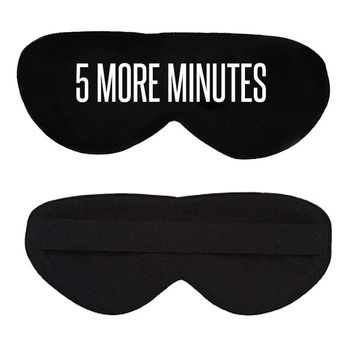 5 More Minutes Cotton Lux Sleep Mask
