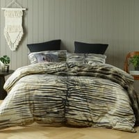 Safari Black Printed Quilt Cover Set OR Accessories by Bianca