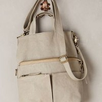 Beatriz Foldover Tote by CNP Ivory All Bags