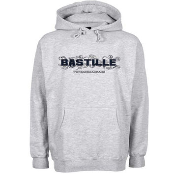 bastille logo Hoodie Sweatshirt Sweater Shirt Gray and beauty variant color for Unisex size