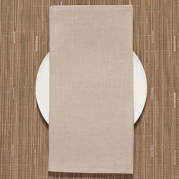 Chilewich Basketweave Placemats S/4 | New Gold