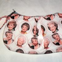 Golden girls inspired Clutch Style bag