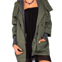 Oversized Military Jacket - 2020AVE