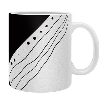 Viviana Gonzalez Black and white collection 02 Coffee Mug