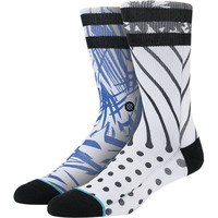 Stance Mulch Athletic Crew Sock - Men's White, L/XL
