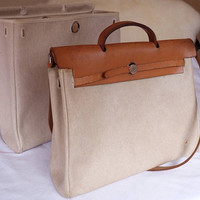 Authentic Hermes Herbag GM