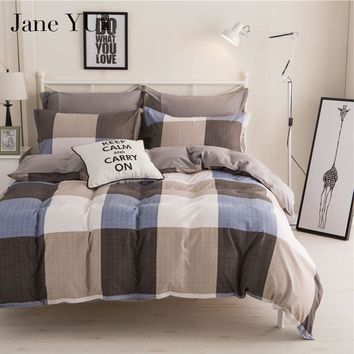 Cool JaneYU brief style bedspread &coverlet  duvet cover geometric Patterns bedding sets 4pcs full/queen/king/superking bedclothesAT_93_12