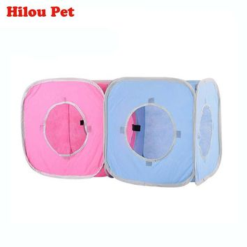 Cat Play Tents Tunnel Playground Foldable Combinable Toys