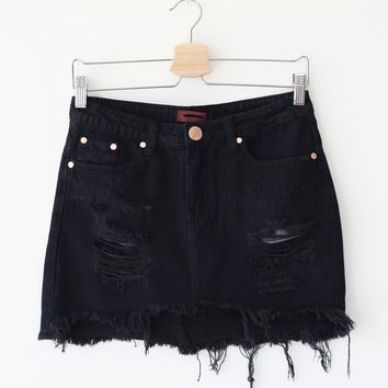 Lana Denim Skirt