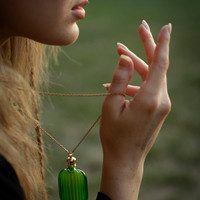 The Emerald Potion - A Black Forest Perfume Adornment