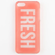 Fresh Iphone 5 Case Clear One Size For Women 23664790001