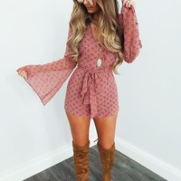 Hidden Secrets Romper: Multi