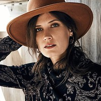 San Diego Hat Company Womens Amber Brimmed Hat