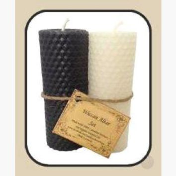 Wiccan Altar Candle Set
