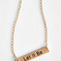 ModCloth Minimal Spread your Wisdom Necklace