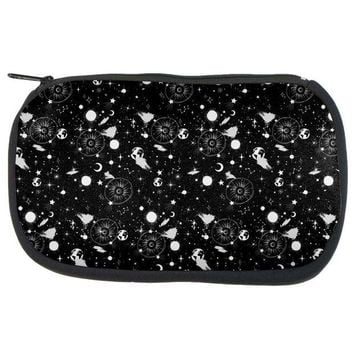 DCCKIS3 Halloween Galaxy Astronomy Pattern Makeup Bag