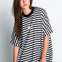 Stripe Oversized Top - Shop Jeen - powered by Hingeto