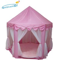 2017 New Play Tent Portable Foldable Princess Folding Tent Children Castle Play House Kids Gifts Outdoor Toy Tents For Kid