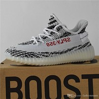 2017 Adidas Originals Yeezy 350 Boost V2 Zebra Releases Running Shoes Sneakers Sply Ye
