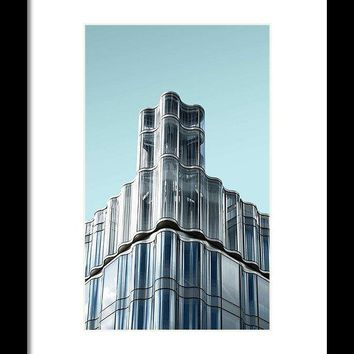 Urban Architecture - Oxford Street, London, United Kingdom 3 - Framed Print