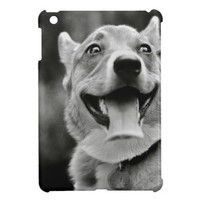 Smiling Pembroke Welsh Corgi iPad Mini Case from Zazzle.com