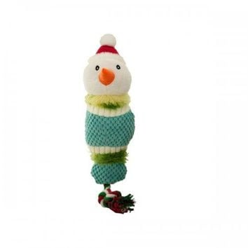 Christmas Character Knotted Dog Rope Toy