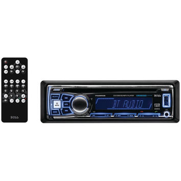 Boss Audio Single-din In-dash Am And Fm And Cd Receiver With Rgb Illumination (with Bluetooth)