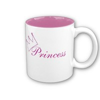 Princess mug from Zazzle.com
