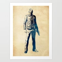 Leon S. Kennedy Art Print by naumovski