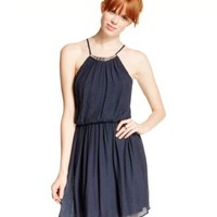 As U Wish Blouson Gauze Dress | macys.com
