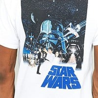 Star Wars White T-shirt - Urban Outfitters