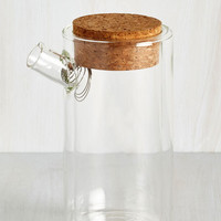 Rustic Natural Chemistry Teapot by Kikkerland from ModCloth