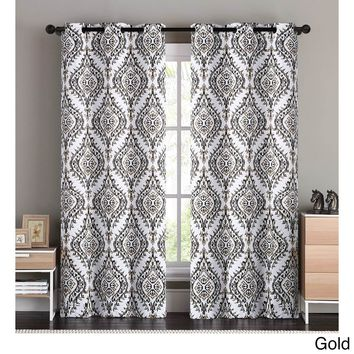 Moroccan Market Blackout Curtain Panel PAIR