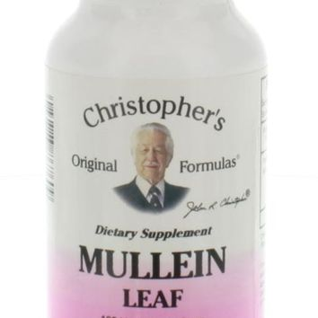 Christopher's Original Formulas Mullein Leaves 425 mg 100 Vegetarian