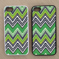 Cute Floral Paisley Chevron iPhone Case, iPhone 5 Case, iPhone 4S Case, iPhone 4 Case - SKU: 207
