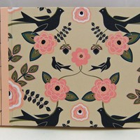Wedding Guest Book Or Wedding Album : Birds And Flowers | Luulla