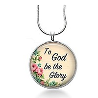 Christian Song Jewelry- To God be the Glory -Spiritual, Sunday School
