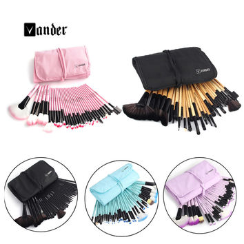 VANDER 32 pcs Synthetic Professional Makeup Brushes pincel maquiagem