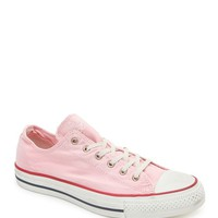 Converse Chuck Taylor All Star Silver Tipped Pink Sneakers - Womens Shoes - Pink -