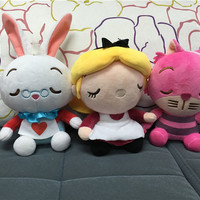 3pcs/lot Alice In Wonderland Stuffed & Plush Doll Toy Dolls & Stuffed Toys Movies & TV WJ524