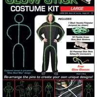 Glow Stick Costume Kit