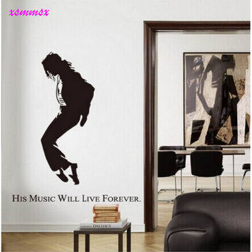 Dancer Wall Sticker Removable wall Decor Decal Wall Paper Art Poster DIY Home Decor poster SM6