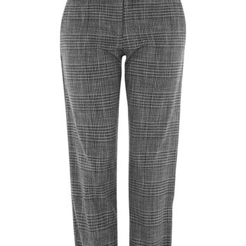 Ruffle Check Mensy Trousers