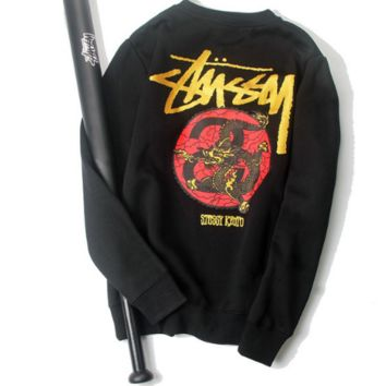 Winter Unisex Stussy Fashion Hip-hop Print Hoodies [9556168199]