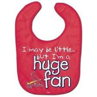 "MLB Officially Licensed St. Louis Cardinals ""Huge Fan"" Baby Bib"