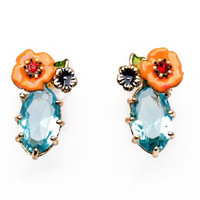 Cayenne Flower Stud Earrings