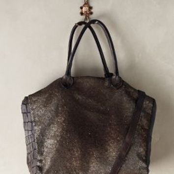 Caterina Lucchi Sequined Fete Tote Bronze One Size Bags