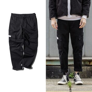 Casual Winter With Pocket Training Pants [272617537565]
