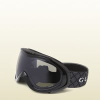 Gucci - ski goggles with gucci logo and signature web detail. 266709J16911050