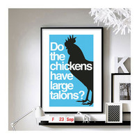 Napoleon Dynamite ('I don't understand a word you just said.') A3 Art Print